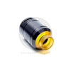 The Sherman RDA includes a very attractive ULTEM 810 drip tip with an extra wide bore for exceptional cloud coverage.