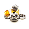 The Sherman RTA V2 is easily disassembled for thorough cleaning and maintenance.