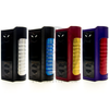 The Sigelei MT MOD is available in Black/Stainless Steel, Black/Blue, Red/Gold, and Purple/Red.