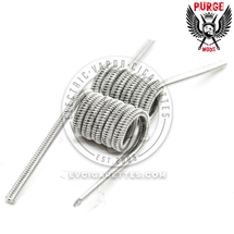 Purge Mods Pre-Built Coils - 2 Core Staggered Fused Clapton (2pcs)