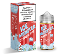 Ice Monster E-Liquid - Strawmelon Apple