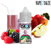 7Daze Salt Series E-Liquid - Berries Reds Apple SALT