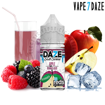 7Daze Salt Series E-Liquid - Berries Reds Apple Iced SALT
