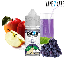 7Daze Salt Series E-Liquid - Grape Reds Apple SALT