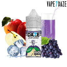 7Daze Salt Series E-Liquid - Grape Reds Apple Iced SALT