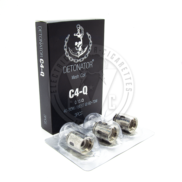 Detonator Atomizer Coil Heads (5pcs) By Squid Industries