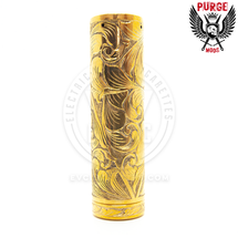 "Hand Engraved ""Hagermann"" B2B V4 21700 Mech MOD by Purge Mods (#1 of 10)"