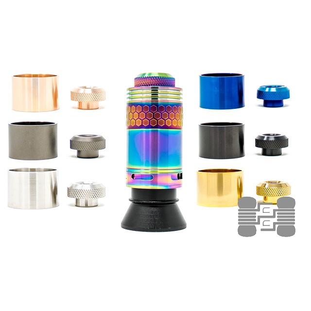 Hive RTA (28mm) Metal Tank/Tip Combo
