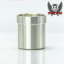 Slam/Stacked/Side Piece Solid Silver Contact Cup by Purge Mods