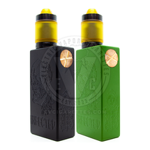 Infected 20700 Series Mechanical Box MOD & Gunmetal Helo RTA by Deathwish Modz / Asylum Mods