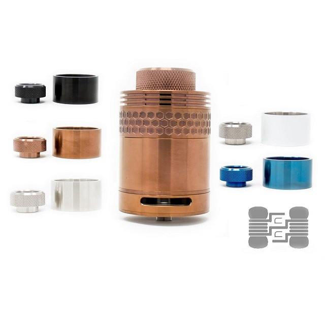 Hive RTA (40mm) Metal Tank/Tip Combo