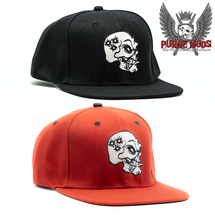 Purge Skull Snapback Hat by Purge Mods