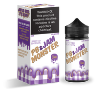 Jam Monster E-Liquid - PB & Jam Monster Grape