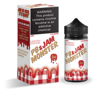 Jam Monster E-Liquid - PB & Jam Monster Strawberry