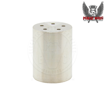 Slim Piece/Side Piece Slim Solid Silver Contact Cup by Purge Mods