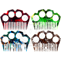 Knuckle Duster Beard Comb by Dead Mans Hand Elixir