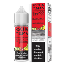 Pachamama E-Liquid - Blood Orange Banana Gooseberry