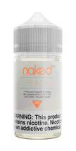 Naked 100 E-Liquid - Peach