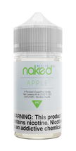 Naked 100 Menthol E-Liquid - Apple
