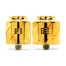 Strife RDA (Mokume Gane) (25mm / 28mm) by Cloud Chasers Inc (CCI)