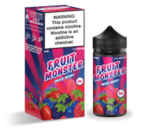 Fruit Monster E-Liquid - Mixed Berry