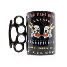 Knuckle Duster Coffee Mug by Dead Mans Hand Elixir