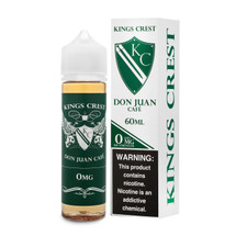 King's Crest E-Liquid - Don Juan Café
