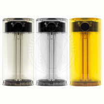 Saga 21700 Series Mechanical Box MOD (LE Clear) by Vaperz Cloud