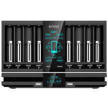 Efest LUC V8 Double Screen Fast Battery Charger