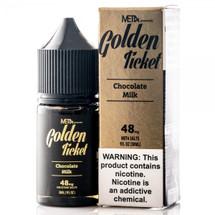 MET4 Vapor x Saveur Vape Salt E-Liquid - Golden Ticket