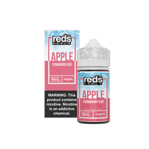 7Daze E-Liquid - Strawberry Reds Apple Iced