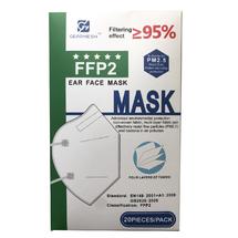 Disposable Face Mask - KN95 Four Tier by Gearmesh (20pcs)