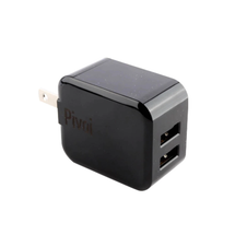 Dual USB 2.4A Wall Charger by Pivoi (1pk)