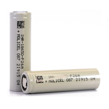 Molicel P26A 18650 2600mAh Battery - 35A
