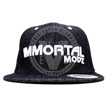Immortal Modz Denim Snapback Hat by Immortal Modz