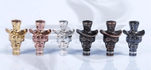 Metal Skull Cowboy Drip Tip for 510 | 808D-1 | 901