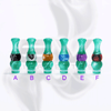 Versicolor Mixed Dual Green Drip Tip for 510 | 808D-1 | 901