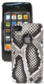 Genuine Python Skin iPhone 5 5S Hard Case Natural [PYBPC003ANT01G]