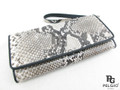 Genuine Python Belly Skin Clutch Wallet Natural [PYRL015NT01G]