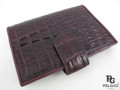 Genuine Caiman Skin Card Holders Violet [CMCH001TVT01]