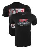 UFC FS1 Halifax Eveent Shirt Rory MacDonald vs Tarec Saffiedine