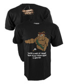Ranger Up The Damn Few Gunny Hipster Hate Shirt