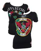 Affliction Cain Velasquez Heritage UFC 180 Womens Shirt