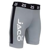 Jaco Vale Tudo Fight Shorts - Long (Grey/Black)