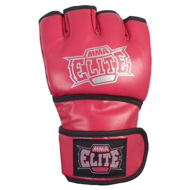 MMA Elite Pro Style MMA Open Palm Pink Gloves1