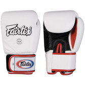 Fairtext Muay Thai Style Sparring Gloves WHITE
