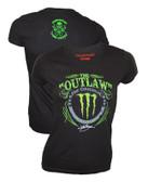 Panic Switch Kurt Busch Monster Energy Womens Shirt
