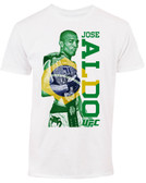 Jose Aldo UFC 189 Brazil Fighter Flag T-Shirt