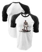 Muhammad Ali Over Liston Raglan Shirt