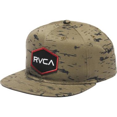 RVCA Badger Snapback Hat